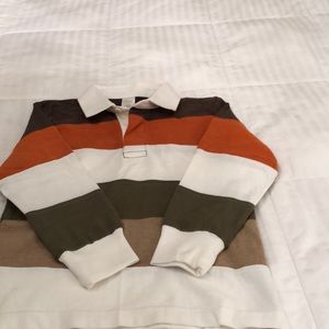 Gymboree rugby shirt.  Size 6.